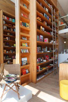 Uptown Bookstore in Rio de Janeiro by Paula Neder