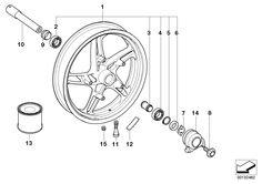 Bmw R 1150 RT, 2000, brakles, front wheel brake