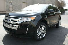 2014 Ford Edge Limited 3.5L V6 AWD... my future mommy mobile. Only if the hubby gets rid of the Excursion. Pray he doesn't.