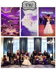 Wedding #pwphotography #beautiful #wedding #hotel #richmodva #hilton