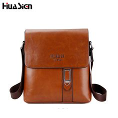 Buy now Brand men's POL leather shoulder bags Solid Men Messenger Bag casual business Crossbody vintage Soft leather polo bag just only $16.50 with free shipping worldwide  #crossbodybagsformen Plese click on picture to see our special price for you
