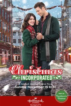 "Its a Wonderful Movie - Your Guide to Family Movies on TV: Hallmark Channel Christmas Movie ""Christmas Incorporated"" 2015 Hallmark Channel, Películas Hallmark, Films Hallmark, Hallmark Holidays, Best Hallmark Christmas Movies, Christmas Movies List, Christmas Holidays, 2015 Movies, Hd Movies"