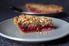 We could go for Smitten Kitchen's Sour Cherry Pie with Almond Crumble any time of day, any day of the week!