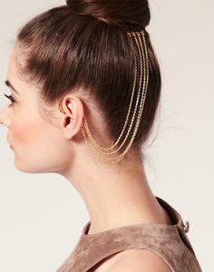 ssweeeet! #earcuff #haircomb