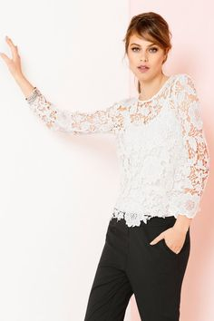 Emerge Lace Top | Womenswear | EziBuy NZ
