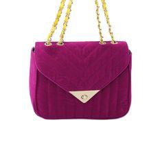 Nila Anthony Chevron Crossbody Fuschia up to 70% off | Handbags | Little Black Bag