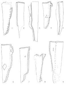 Haithabu knife sheaths