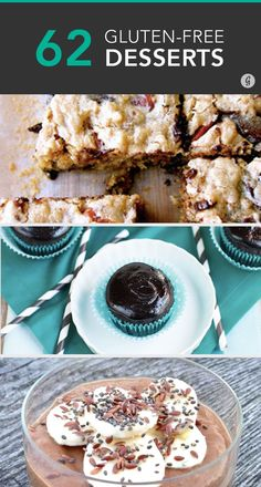 Gluten-free folk can have our dessert and eat it too. #healthy #recipes #glutenfree