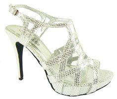 Pretty silver shoes