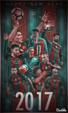 Best team in Europe Barcelona top of the league la liga santander Messi suarez and  neymar best 3 in the world