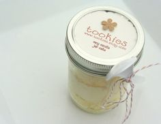 Very Vanilla with Buttercreme Frosting Jar Cake 2 pack by tookies, $18.00
