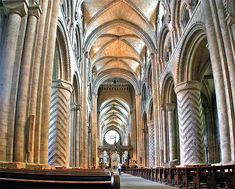 Durham Cathedral Nave 1093-1133 a.d.