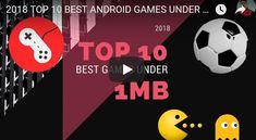 TOP 10 BEST #ANDROID #GAMES UNDER #1MB 2018 😱 #tatricks #tatricksgamingweekly #gaming