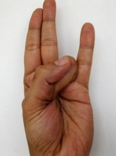 Surya Mudra – for reducing excess fat and lowering bad cholesterol