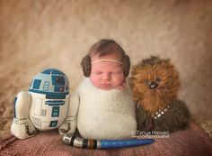 Star Wars Newborn | Star Wars | Newborn Photography | Baby Princess Leia | Now It's Personal Photography | Newborn photo ideas | Milwaukee Newborn Photographer | www.facebook.com/NowItsPersonalPhotography