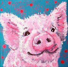 Original artwork.on canvas Cute