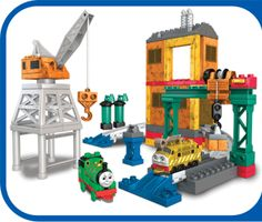 For the construction lover, who wouldn't love Thomas and Friends - Day at the Dieselworks?