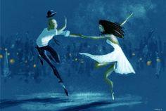 pascalcampion: Blue Dance. Art