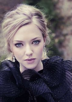 Amanda Seyfried. Acts in- Lovelace, Les Misérables, In Time, Chloe, Red Riding Hood, Dear John