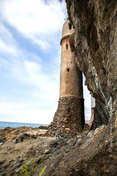 Victoria Beach..pirate tower