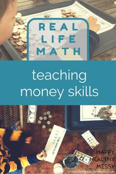 Teach your kids to be savvy little money managers with these simple real life lessons!