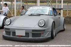 matte gray RWB #Porsche (click for larger size)