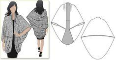 Cape/wrap. Looks simple enough