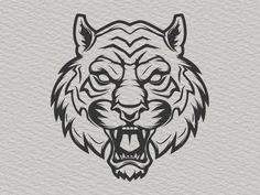 Tiger Head by Kotliar
