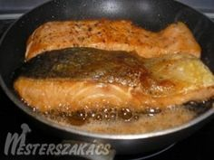 Hungarian Recipes, Salmon, Toast, Pork, Cooking Recipes, Dishes, Breakfast, Foods, Drinks