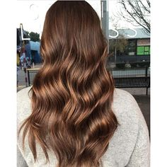Milk chocolate brunette. Color by @hairbyaliciafryearson #hair #hairenvy #hairstyles #haircolor #brunette #newandnow #inspiration #maneinterest