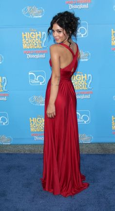 Vanessa Hudgens this is a beautiful dress! I love silk and the cross at the back ^_^ next formal event i think YES :)