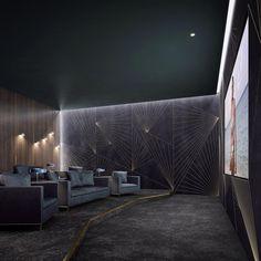 small home theater room ideas Basement Movie Room, Movie Theater Rooms, Home Cinema Room, Home Theater Lighting, Sound Room, Home Theater Design, Home Movies, Entertainment Room, Modern Interior Design