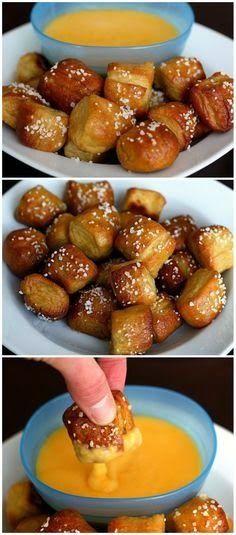 Homemade Soft Pretzel Bites   FoodGaZm..