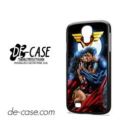 Superman And Wonder Woman Romantic Kiss DEAL-10286 Samsung Phonecase Cover For Samsung Galaxy S4 / S4 Mini