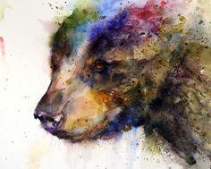 Watercolor Tattoo Designs | Animal Watercolor Portraits 1 Animal Watercolor Portraits