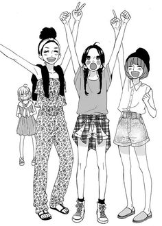 Hirunaka no Ryuusei girls