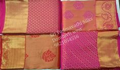 Big day, tiny motifs, grand look, amazing moments! Kancheepuram Pure Silk Bridal Brocade Sarees for the Beautiful Bride! Book now 91 9821054556  Sri Padmavathi Silks, the only South Indian store in Dombivli, India. Kancheepuram pure silk sarees in Mumbai. Online shopping and international shipping available. Wholesale orders accepted.  #wedding #bride #pink #bridalsaree #bridalbrocade #indianwedding #indianbride #silksaree #Kanchipuram #beautiful #beautifulbride #indianwear #fashion #love…