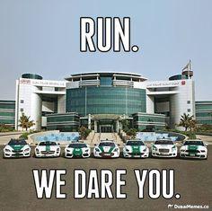 Dubai supercar Police fleet are 100% badass. Click on the image for more hilarious car memes. #lol #spon