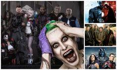 Suicide Squad, Batman Vs. Superman: Dawn Of justice, Deadpool, Capitán América: Civil War y X-Men: Apocalypse hacen parte del listado.