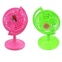 Globe Style USB Mini Fan Ultra Quiet Desk Fan Home Table Durable Cool Fan