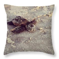 """Back to the sea Throw Pillow 14"""" x 14"""""""
