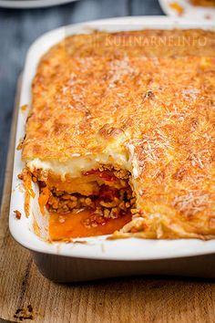 Zapiekanka ziemniaczana z mięsem mielonym i beszamelem Aga, Lasagna, Recipies, Food And Drink, Menu, Cooking Recipes, Tasty, Dining, Ethnic Recipes