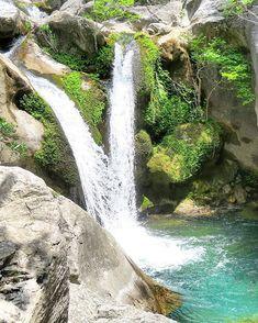 Sapadere Canyon in Alanya. Ein Geheimtipp sind Seidenraupen die im Juni im Dorf Sapadere ihre Cocons spinnen.