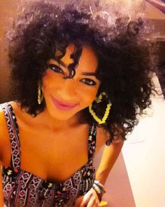 Priscilla // 3C/4A Natural Hair Style Icon   Black Girl with Long Hair