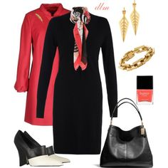 """Coral"" by dmiddleton on Polyvore"