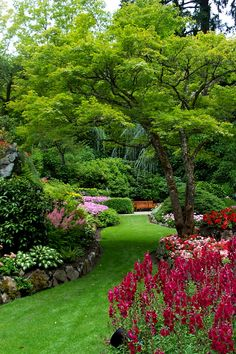 The Butchart Gardens, Fifty-five acres of stunning floral show gardens and a National Historic Site of Canada, is located near Victoria, British Columbia.