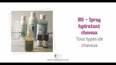 Tuto Spray hydratant 100% naturel pour des cheveux éclatants | Célia Dreams - YouTube. Avec seulement 3 ingrédients réalisez un spray pour hydrater vos cheveux. Ils seront gainés, doux et volumineux. Facile et rapide à faire, c'est idéal l'été pou protéger vos cheveux si vous allez au bord de la mer, de la piscine ou sur la plage. #tuto #cheveux #spray #naturel #diy #hydratant Coin, Medicine Cabinet, Blogging, Articles, Community, French, Lifestyle, Moisturizer, Minimalism