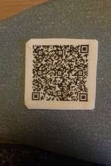 Cross-stitch qr code! Have to make one for my etsy shop!