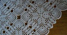 World Crochet: Motive 152 - Diy Crafts Filet Crochet, Crochet Motifs, Crochet Squares, Thread Crochet, Crochet Hooks, Crochet Tablecloth Pattern, Crochet Bedspread Pattern, Vintage Crochet Patterns, Crochet Blanket Patterns