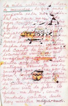 Durante 27 anos, as cartas de amor encontradas no Diário de Frida Kahlo evidenciam a profunda ligação com Diego Rivera repleta de emoção. Como um caldeirão efervescente de alegria, angústia, devoção e desejo, estes manuscritos falam por si só.